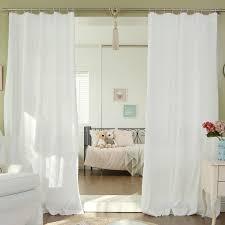 Tab Top Sheer Curtain Panels Best Home Fashion Inc Geometric Semi Sheer Tab Top Curtain