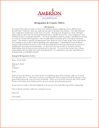 example professional resignation letter how to write a conclusion