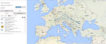 Flight Path Map A Configurable Airport Route Map To Promote Your Connectivity