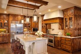 limestone kitchen backsplash bed bath ceiling beams and pendant lights with kitchen cabinet