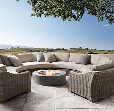 Best Outdoor Furniture Images On Pinterest Outdoor - Round outdoor sofa