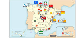 Ap World History Regions Map by Spain Clubs In La Liga By Autonomous Communities