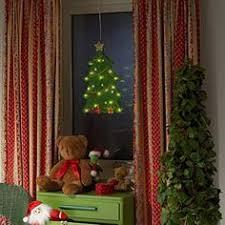 large polka dot christmas tree window wall art decoration sticker