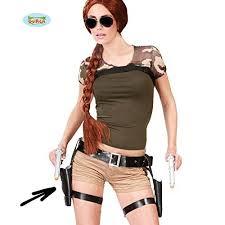 Western Halloween Costumes Ladies Black Gun Holster 2 Pistols Western Halloween Fancy Dress