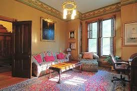 traditional living room with laminate floors u0026 oriental area rug