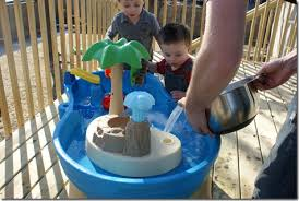 Water Table For Kids Step 2 Step2 Tropical Island Resort Water Table Review And Giveaway