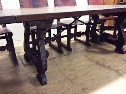 Spanish Dining Room Furniture Antiguo Comedor Español Enorme Monasterio De Mesa 10 Sillas De
