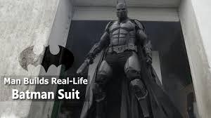 guy made a real life batman suit that packs 23 bat gadgets