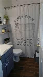 bathrooms marvelous black farmhouse star shower curtain sink