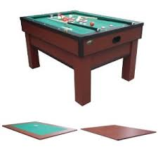 3 in one pool table in 1 bumper pool table rhino play dining card table combo