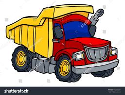 safari truck clipart dump tipper truck lorry construction vehicle stock vector