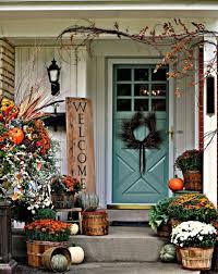 home decor ideas interesting thanksgiving front door décor ideas