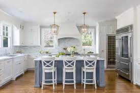 white kitchen with island white kitchen with stacked cabinets and grey island home bunch