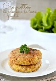 cuisiner des restes de poulet croquettes de pommes de terre au poulet cuisiner les restes de