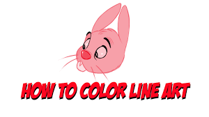 bucket filling coloring pages sketchbook pro tutorial how to color line art youtube