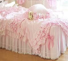 Ruffle Duvet Cover King Buy Pink Ruffle Bedding Set Princess Bed Comforter Comforters Sets