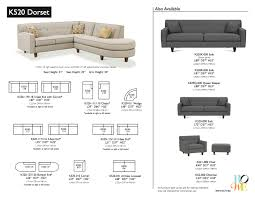 Rowe Sectional Sofas by Dorset Gage Furniture
