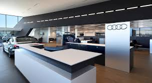 audi dealership design byers audi of columbus renier construction
