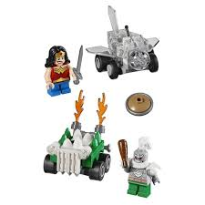 dc universe super heroes mighty micros wonder woman vs doomsday