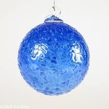 blown glass ornament suncatcher carriewolf net