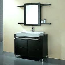 Bathroom Mirror Storage Cabinet Mirrored Bathroom Cabinet With Shelves Gilriviere