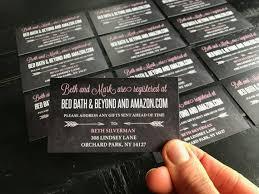 custom wedding registry wedding registry insert cards custom insert cards to let your