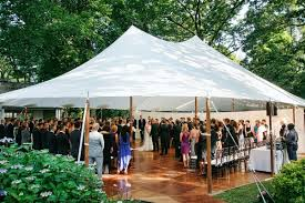 outdoor tent wedding from ceremony to celebration one sailcloth tent does it all