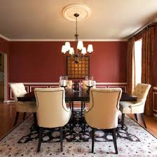 dining room ideas traditional 75 outstanding pole swag jabot valance dining room traditional