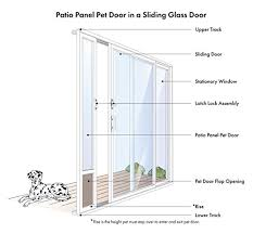 how to measure sliding glass doors 13 tips for buying a sliding glass dog door paw castle