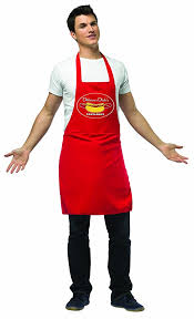 Dirty Male Halloween Costumes Amazon Rasta Imposta Apron Dog Vendor Red Standard