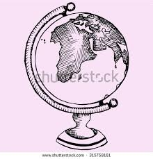stock images similar to id 351521318 map doodle