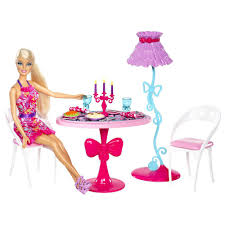 barbie dining room set barbie glam dining room furniture and doll set best home ideas