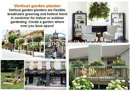 vertical garden wall pocket planter sl xq3319 flora felt living