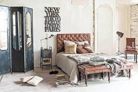 chambre style industrielle chambre style loft industriel frais inspirations pour une déco de