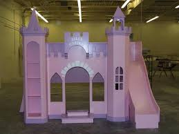 Interior Decorations Ideas Astounding Awesome Girls Castle Loft Bed Interior Designing Ideas