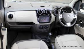 renault interior renault lodgy review shifting gears