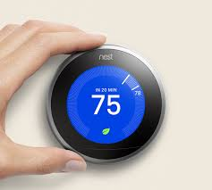 bluetooth thermostat google updates nest thermostat with larger display slimmer body and