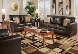 Leather Match Upholstery Brown Bonded Leather Match Modern Sofa U0026 Loveseat Set W Options