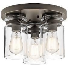 Glass Ceiling Light Fixtures Flush Mount Lighting You U0027ll Love Wayfair