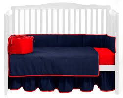 amazon com baby doll bedding solid reversible crib bedding set