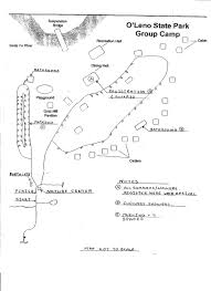 Florida State Parks Camping Map by Maps Friends Of O U0027leno