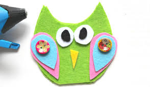 no sew felt owl finger puppets arty crafty kids