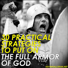 30 practical strategies to put on the full armor of god anchored