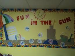 Preschool Bulletin Board Decorations 8 Best Summer Fun Bulletin Board Images On Pinterest Preschool