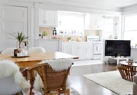 kitchen livingroom small open kitchen and living room houzz