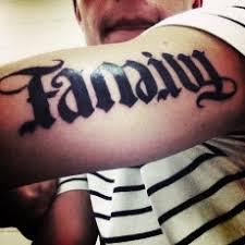 21 exceptional ambigram tattoos