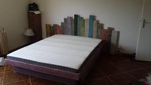 Bed Frame Made From Pallets Furniture Pallet Beds Headboards Diy Projects Pallets Garden