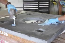 how to clean concrete table top how to make a concrete pub table diy projects with pete