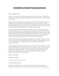 letter of recommendation from teacher sample mediafoxstudio com