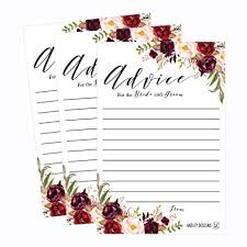 wishing and groom the best 50 4x6 floral wedding advice well wishes for the